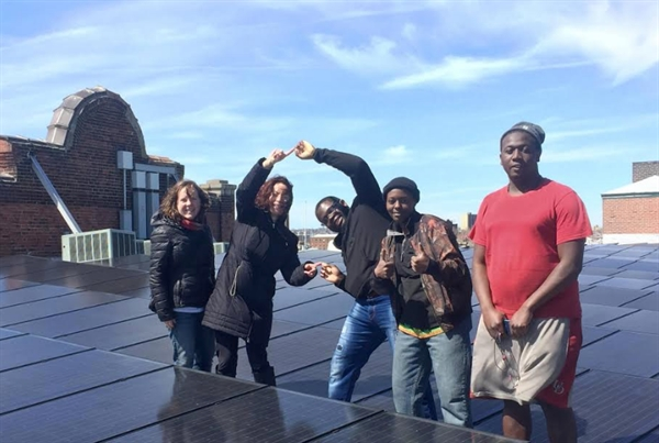 "Image about All-State Grad Helps Add ""Soul"" to North Philly's Solar Energy"